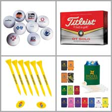 Thousands of custom golf items for tournaments and corporate gifts